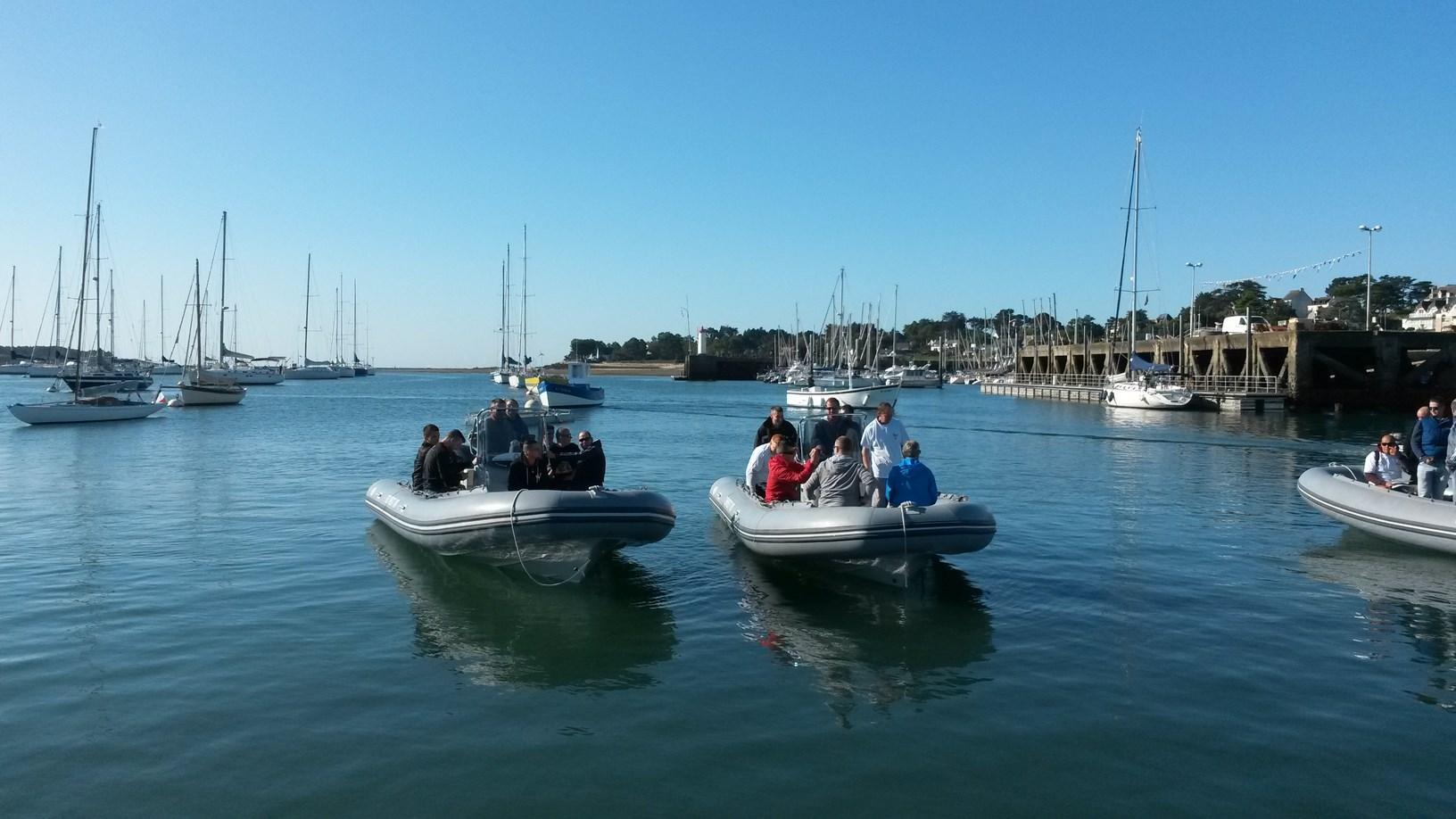 Rallye Nautique anniversaire d'entreprise dans le Golfe Du Morbihan trinité capelli silinger carnac team building incentive séminaire skipper navigation eau