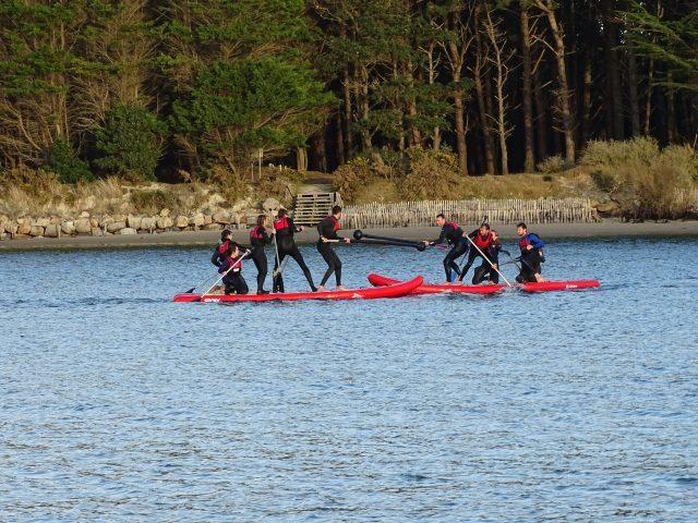Team building avec location de paddle
