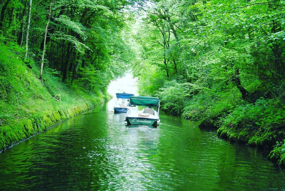 dortie bateaux sans permis avec e-sea sur la rivière de crac'h