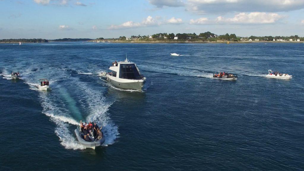 séminaire nautique : le rallye nautique en mer