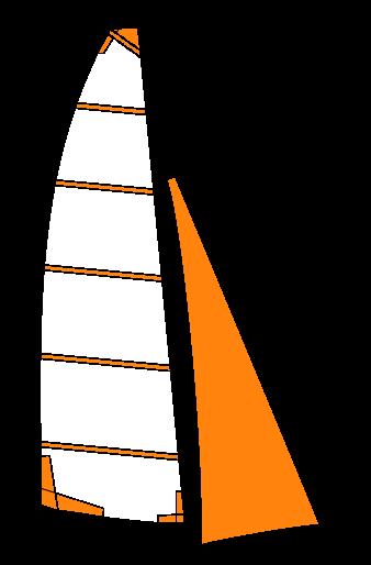 Voiles et trampolines neuves compatibles nacra catamarans sport loisir et club